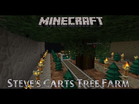 Dungecraft S3: Treefarm with Steves Carts