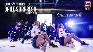 BAILE SORPRESA ♥ Modernicy boys ♥ FRONTROW  Expo 15 enero 2019► EFFECTS FILM