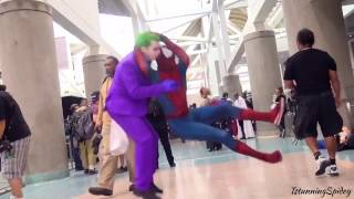 "The Joker gets a ""Stone Cold Stunner"""