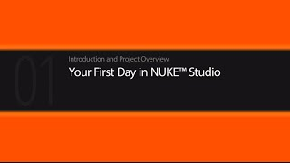 NUKE STUDIO Introduction tutorial