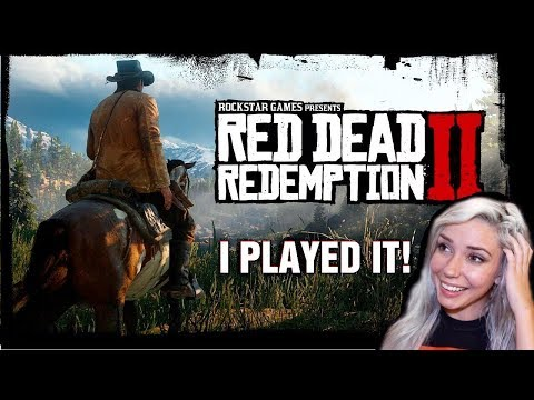 Red Dead Redemption 2 Gameplay Talkthrough   HANDS-ON PREVIEW