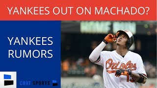 Yankees Rumors: Out Of Manny Machado Race, Competition for J.A. Happ, Targeting Padres Bullpen