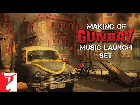 Making Of The Music Launch Set - Gunday