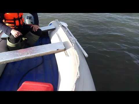 обкатка лодочного мотора микатсу 9.9 видео