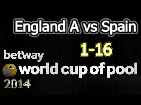 ---England A - vs. - Spain --- 2014 World Cup Of Pool 2014