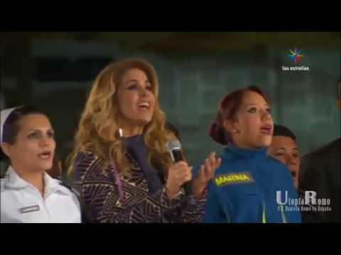 Daniela Romo en Las Mañanitas a la Virgen de Guadalupe 2017