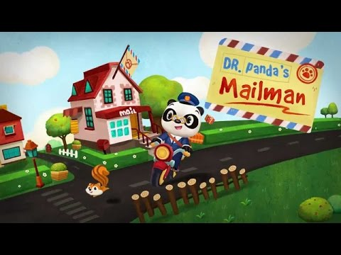 Dr. Panda's Mailman Part 1 - best iPad app demos for kids- E