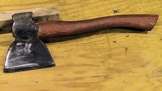 Make A Hatchet Handle
