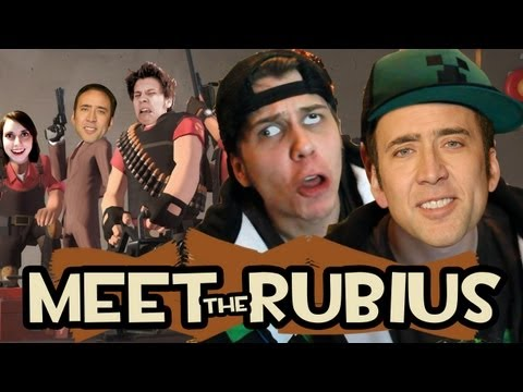 TE ESTAS COPIANDO DE NICOLAS CAGE | Meet The Rubius