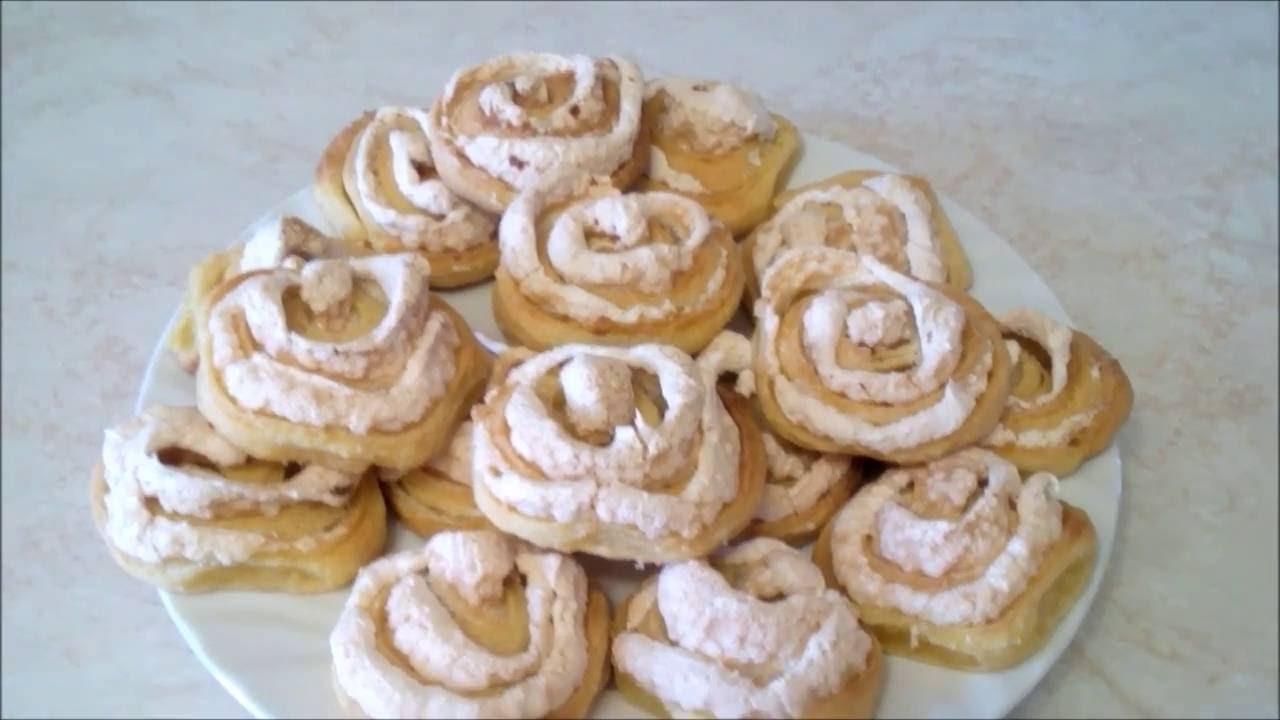 Печенье розочка с творогом рецепт пошагово