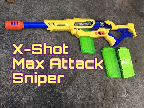 Honest Review: The Zuru Max Attack Sniper Rifle