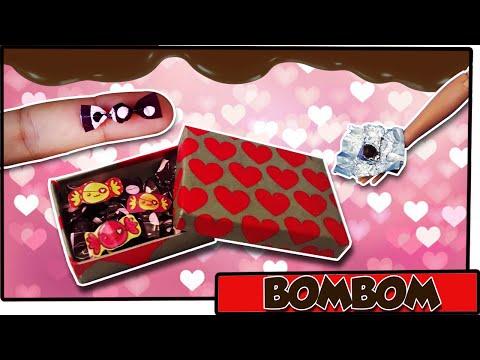 Como fazer: Caixa de Chocolates para bonecas Barbie, Monster High, Ever A. H. entre outras