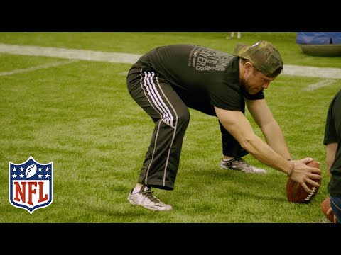 Nate Boyer Launches His Way into the Guinness World Records Book | NFL