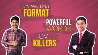 CV Writing Format, POWERFUL Words & CV Killers | Ayman Sadiq