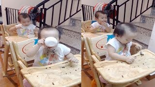 Cute Twin Babies Playing Together | Funny Babies Compilation | MonKi Twin