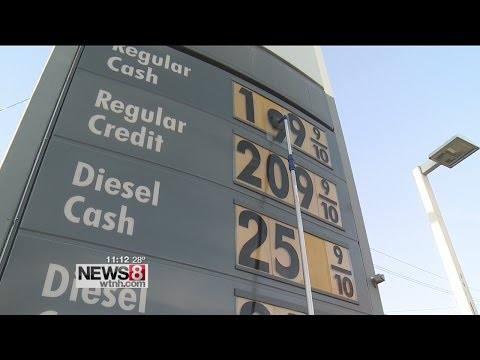 Gas prices falling in Connecticut