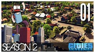 Cities Skylines - S2 Ep.01 : New Beginnings?