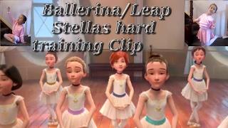 Ballerina/Leap The hard training Clip