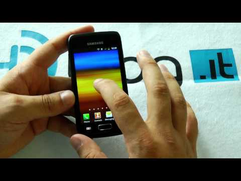 Samsung Galaxy W i8150 video preview ENG by HDblog