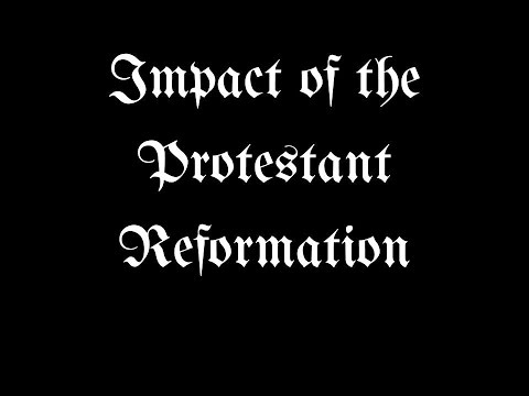 impact of the protestant reformation Throughout europe, political impact of protestant reformation had been so deep that it even led to the exile of catholic queen mary of england ta morri.