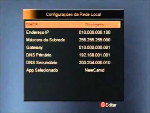 CONFIGURANDO AZAMERICA   S808 S809 S812 S900   ATUALIZAÇÃO E SERVIDOR CS!