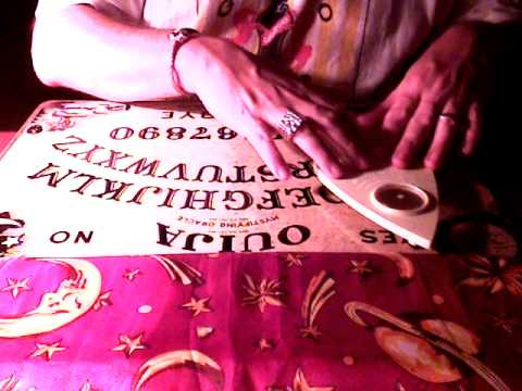 Ouija Board Seance - Spirit of