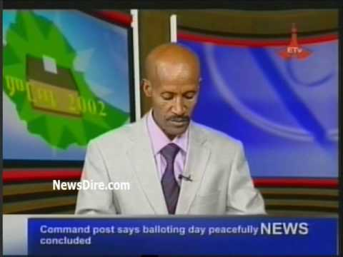 Ethiopia - Command post says balloting day peacefully concluded