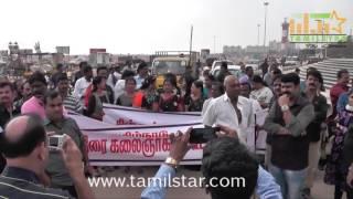 Chinnathirai Kalaignargal Kootamaippu payed condelences CM J Jayalalitha