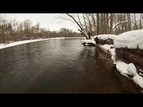 Winter Steelhead Fishing - Salmon River, Pulaski, NY