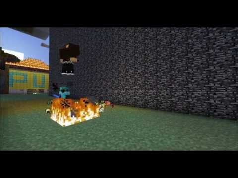 Minecraft Forcefield Prank (Server Experiment)