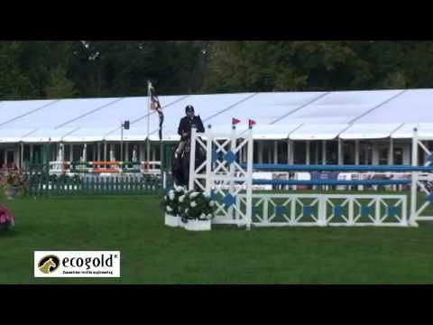 Clayton Fredericks and Brookleigh – Blenheim Horse Trials 2010 – Show Jumping