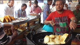 Breakfast 6 Puri with Vajji Only 15 rs | Cheap Street Food in Mumbai