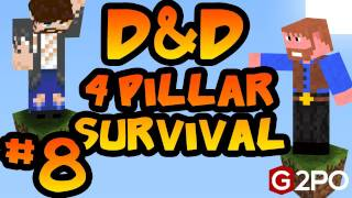 Dumb and Dumber on Minecraft - Failed Sabotage: Part 8, 4 Pillars