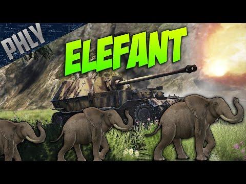 War Thunder - Ferdinand AKA Elefant! - War Thunder Tanks Gameplay