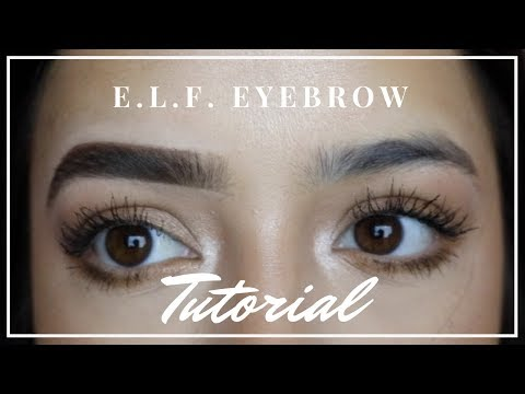 E.L.F. Cosmetics Eyebrow Tutorial