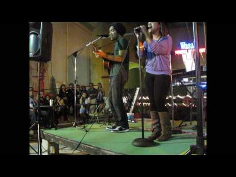 Gabe bondoc & Ramiele Malubay - Fallin' For You (Live Philippines Typhoon Relief) Music Videos