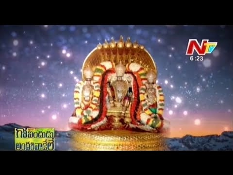 Garuda Vahana Seva At Thirumala Thirupati
