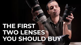 The First Two Lenses You Should Buy & How to Use Them (24-70 & 70-200)