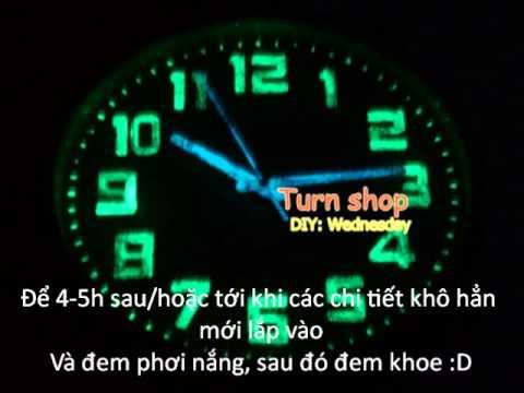 Dong Sang Phát Sáng Lên Đồng Hồ
