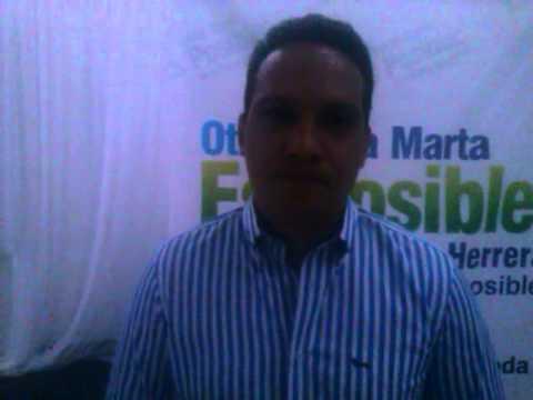 .@AristidesHerrer hizo el lanzamiento de su candidatura a la Alcaldía