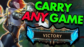 CARRY ANY GAME FROM TOP LANE?? FIORA IS COMPLETELY BROKEN - League of Legends With Friends