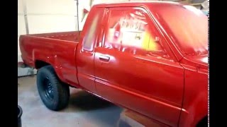 pt 1 Toyota pickup eastwood paint single stage
