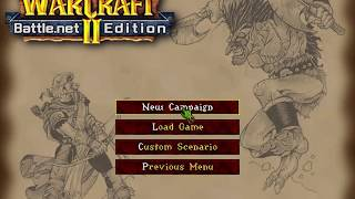 Warcraft 2: Tides of Darkness - Full Orc Campaign Gameplay & Story (Walkthrough / Speedrun)