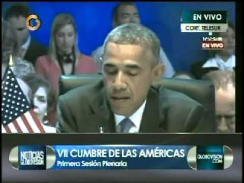 Barack Obama Cumbre de las Américas