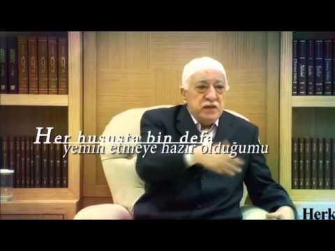 Fethullah gülen hocaefendi: Varsa yürekleri???
