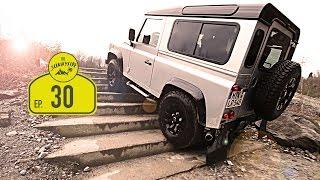 Offroad in der Land Rover Experience Wülfrath | Von der Rostlaube zum Abenteuermobil