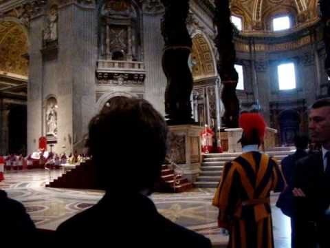 Papal Service on Good Friday 2010, St. Peter's Rome, Palestrina - Popule meus
