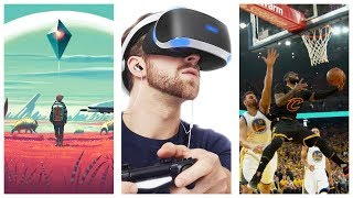 NMS VR? | Live NBA Games in Virtual Reality | 10$ PSN Credit | LOTS Of NEW PSVR UPDATES
