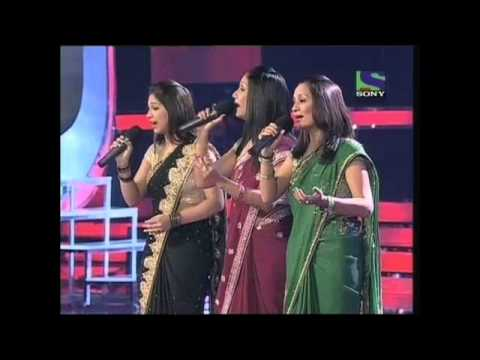 X Factor India - Sajda Sisters performing Ek Pyar Ka Nagma Hai...