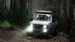 A Misty Forest in a Jimny! (2019)